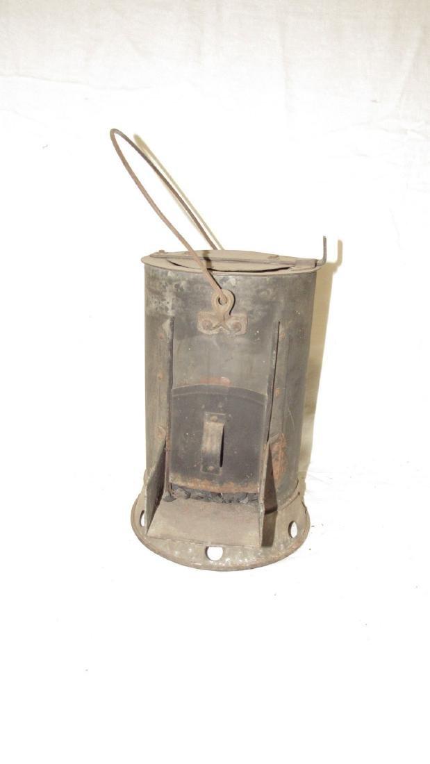 Antique Blacksmith Charcoal Heater