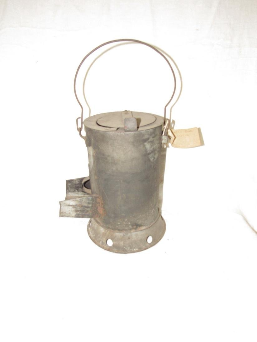 Antique Blacksmith Charcoal Heater - 2