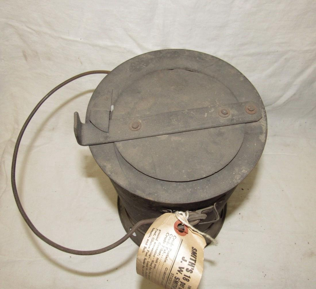 Antique Blacksmith Charcoal Heater - 3