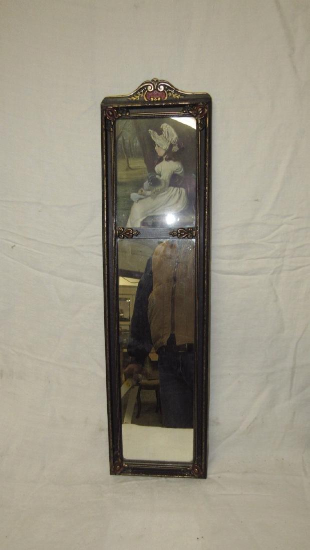 Victorian Mirror w/ Print