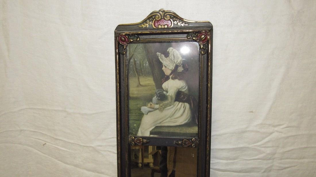 Victorian Mirror w/ Print - 2