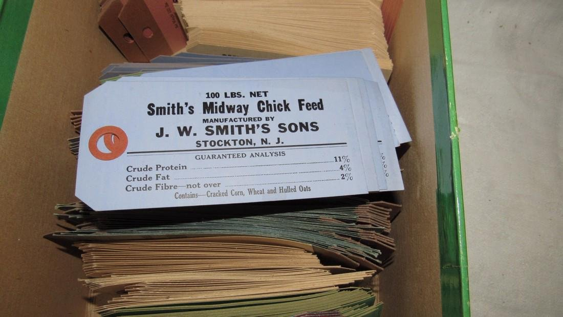 Smiths Feed Stockton NJ Dairy Chicken Labels - 7