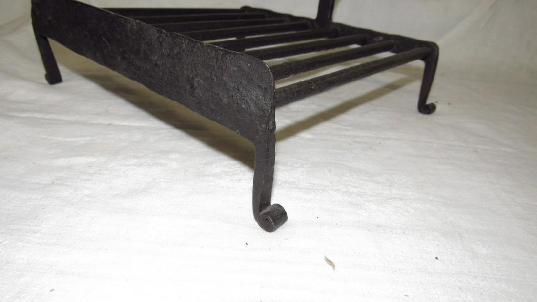 Antique Wrought Iron Trivet - 2