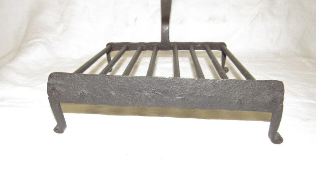 Antique Wrought Iron Trivet - 4