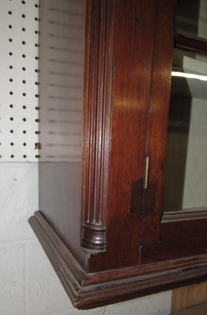 Walnut Chippendale Hanging Cupboard - 2