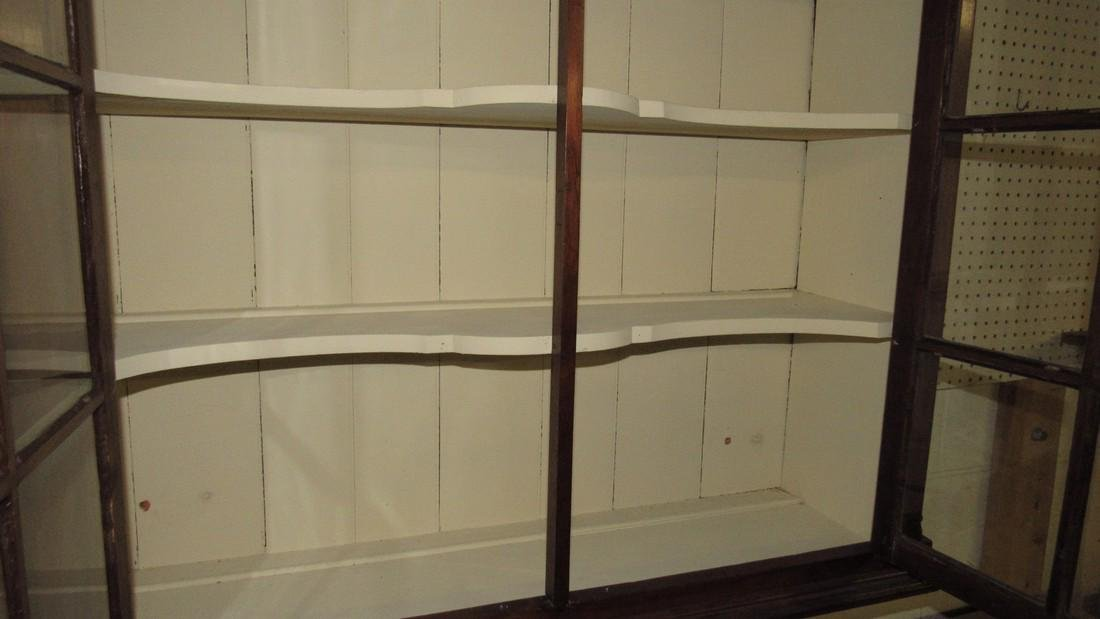 Walnut Chippendale Hanging Cupboard - 4