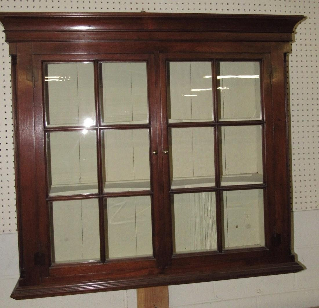Walnut Chippendale Hanging Cupboard - 5