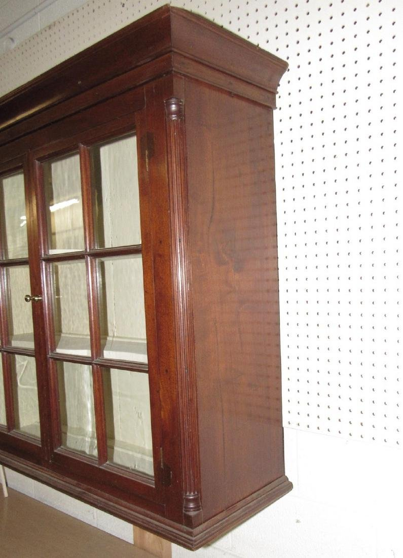Walnut Chippendale Hanging Cupboard - 6