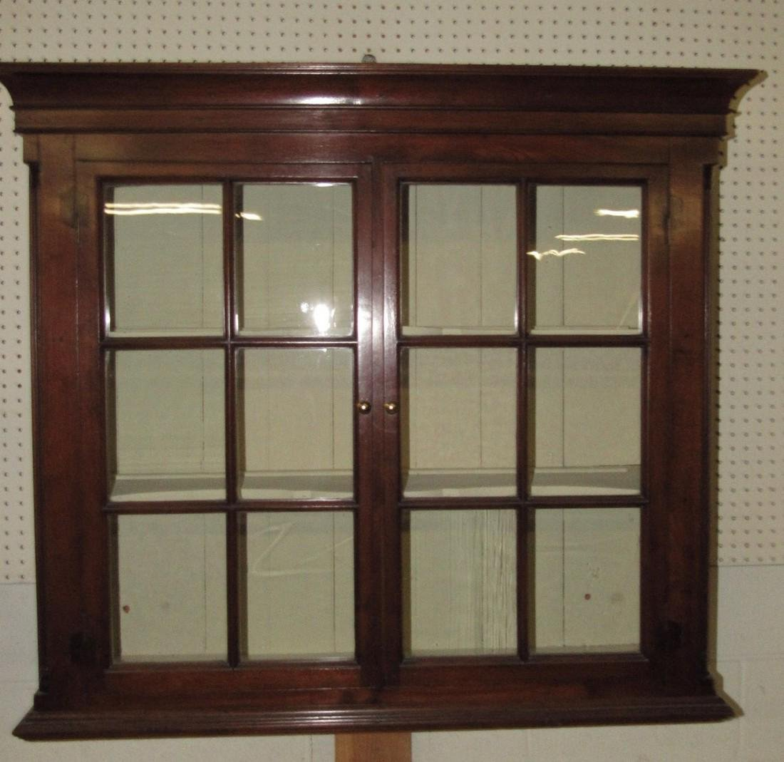 Walnut Chippendale Hanging Cupboard - 7