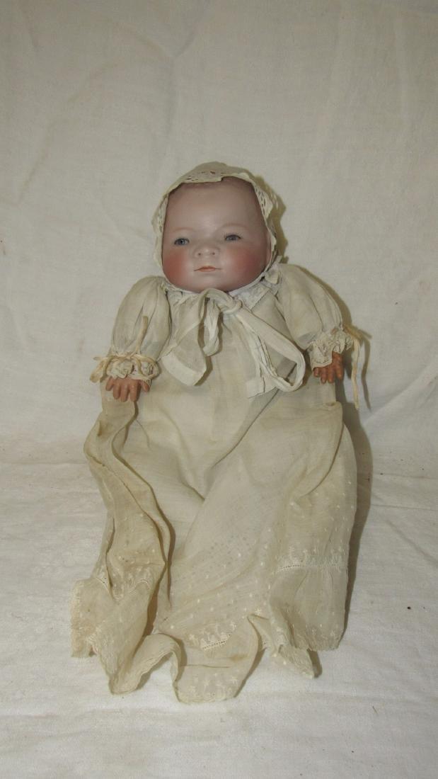 Antique Grace Putnam Bye Lo Baby Bisque Doll