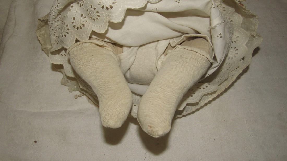 Antique Grace Putnam Bye Lo Baby Bisque Doll - 6