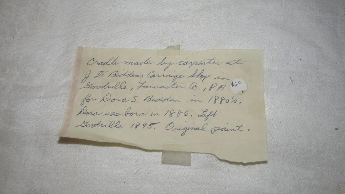 Bidden's Carriage House Lancaster PA Cradle - 4