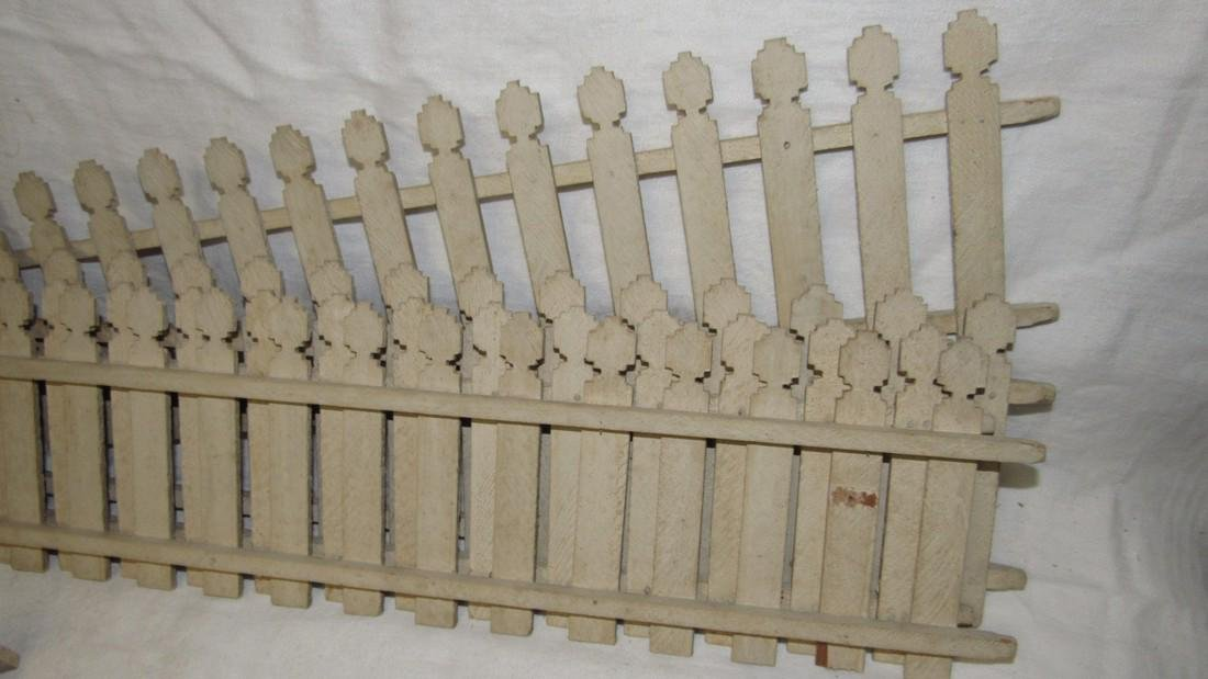 Wooden Doll Fence & Posts - 4