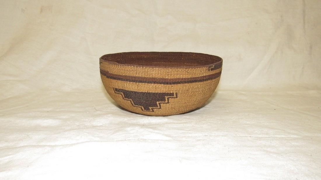 Hupa / Hoopa  Weave Indian Basket