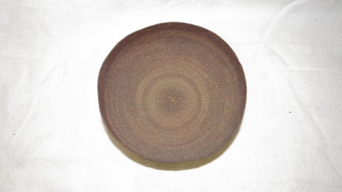 Hupa / Hoopa  Weave Indian Basket - 2