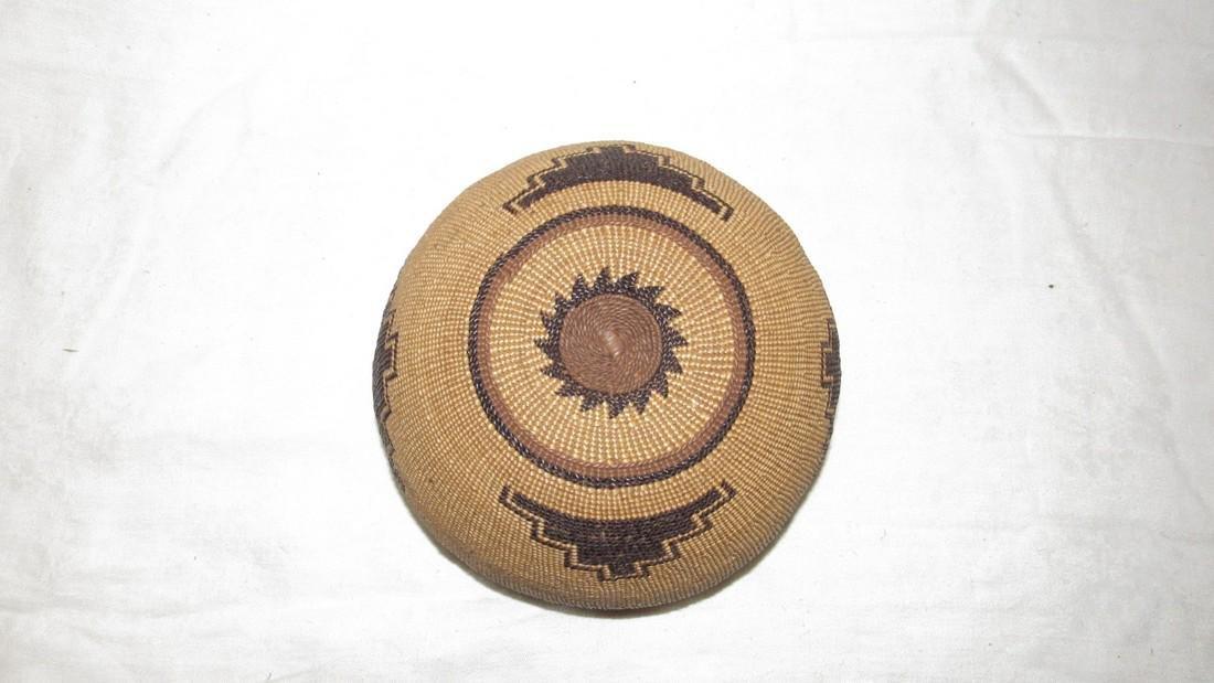 Hupa / Hoopa  Weave Indian Basket - 3