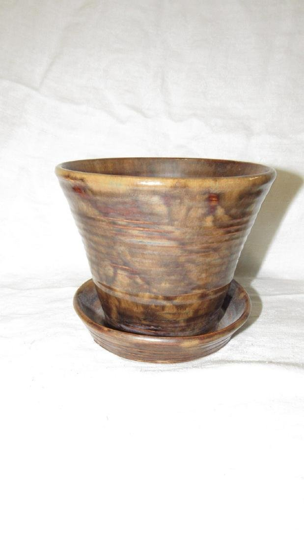 Fulper Flower Pot - 3