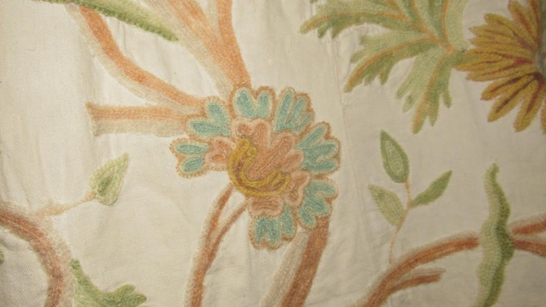 Tree Of Life Embriodered Bedspread - 3