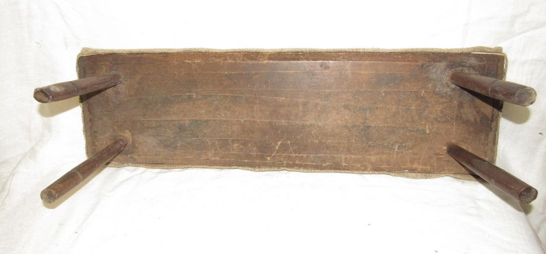 Antique Plank Stool - 2