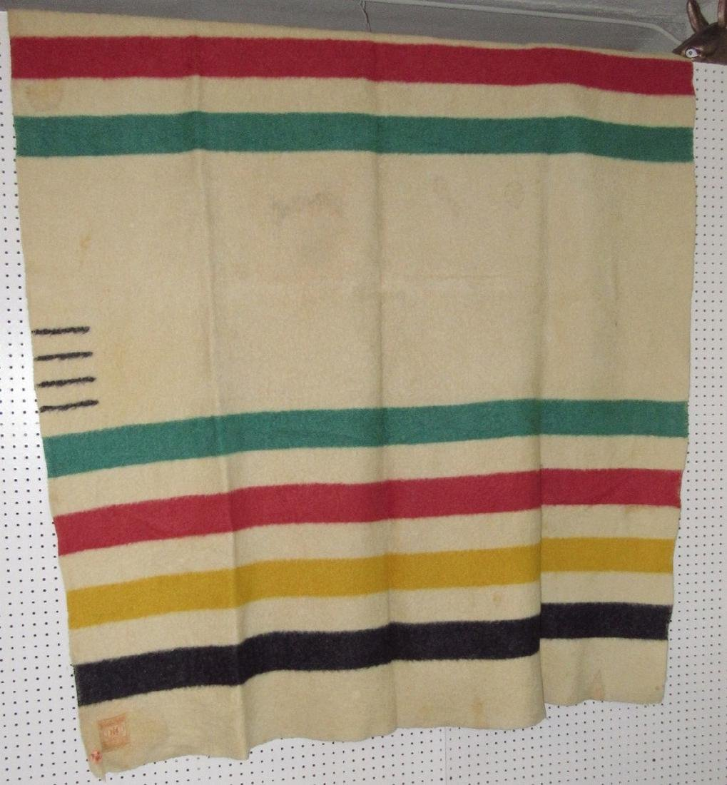 Hudson Bay Point Blanket