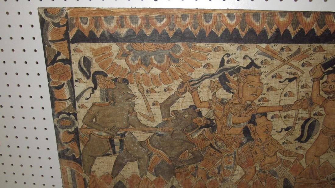 Aztec & Mayan War Gods Painting On Canvas - 2