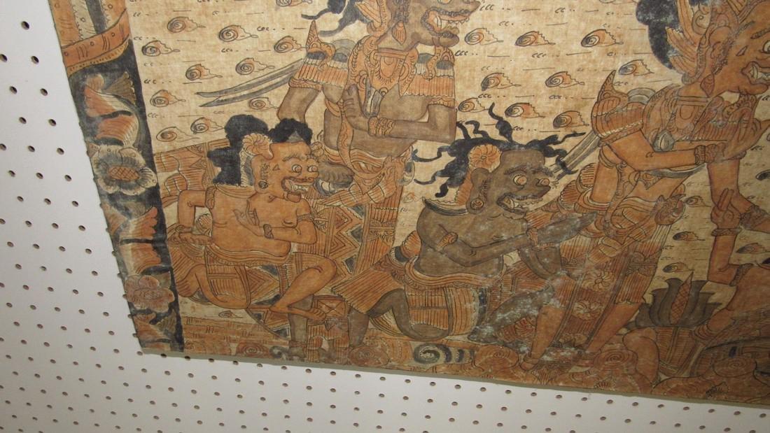 Aztec & Mayan War Gods Painting On Canvas - 3