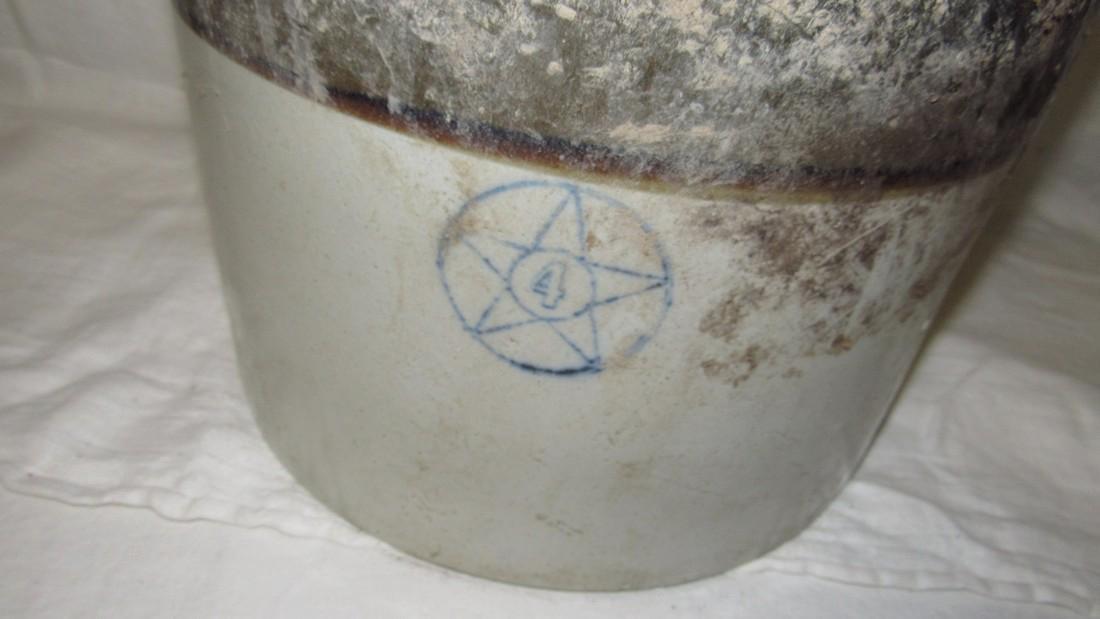 4 Gallon Stoneware Crock - 2