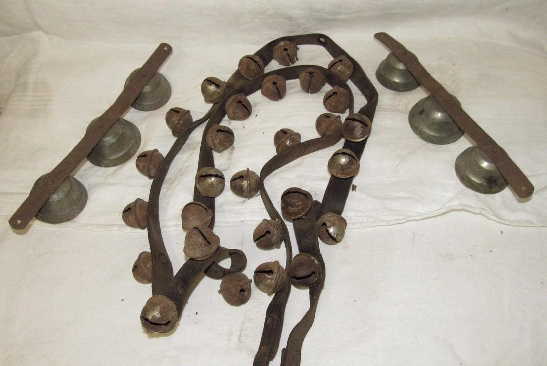 Lot of Antique Bells