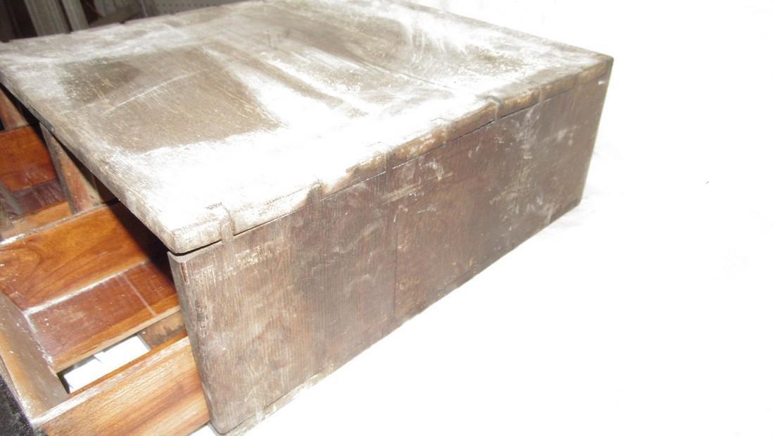 2 Drawer Oak File Box - 4