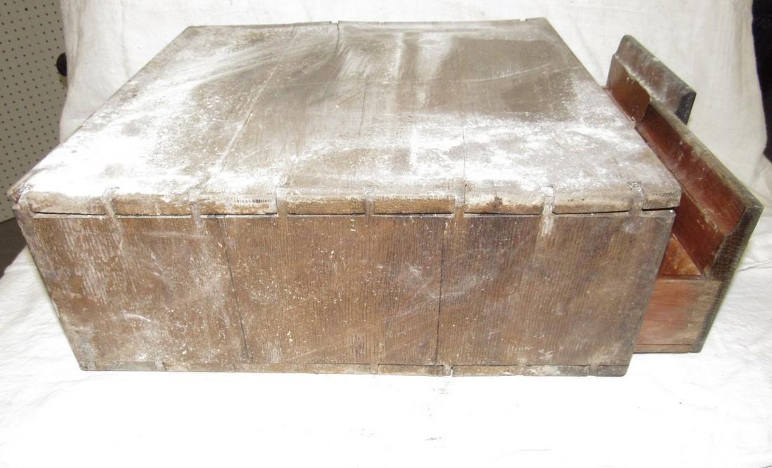 2 Drawer Oak File Box - 5