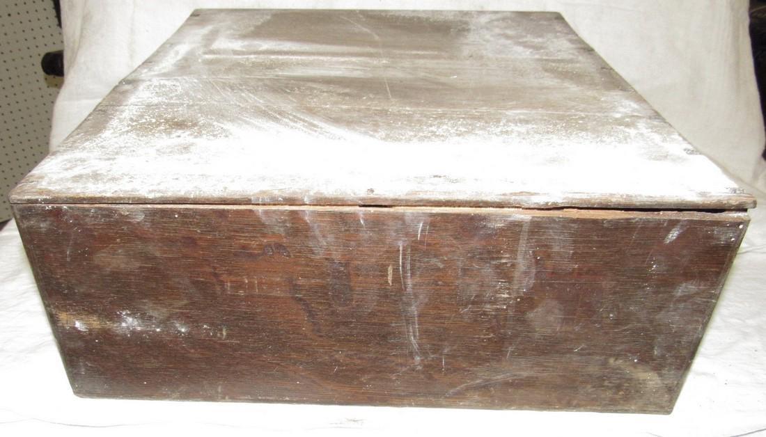 2 Drawer Oak File Box - 6