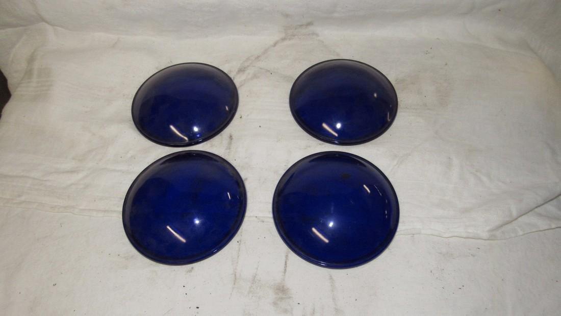 4 Kopp Glass Blue Stage Light Lenses