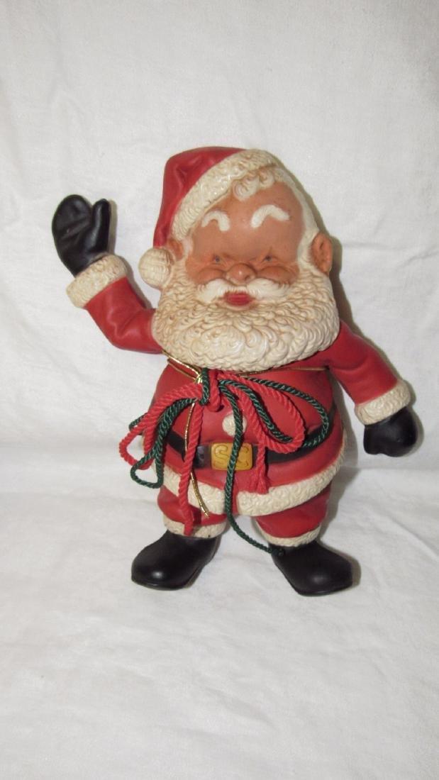 Rempel Rubber Santa Claus Squeaky Toy - 2