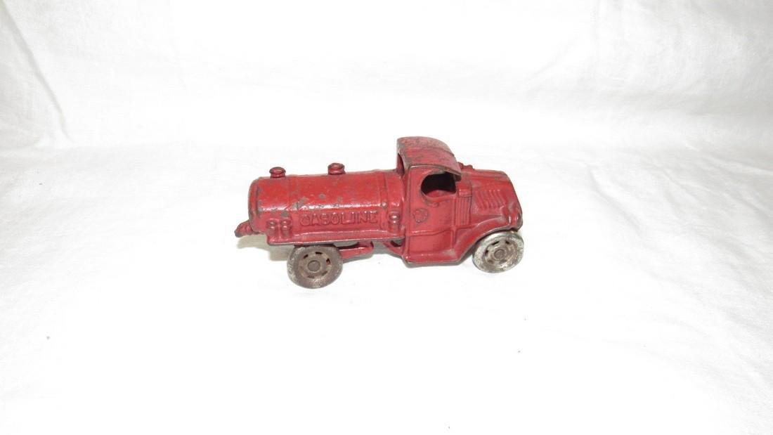 Antique Cast Iron Toy Gasoline Truck