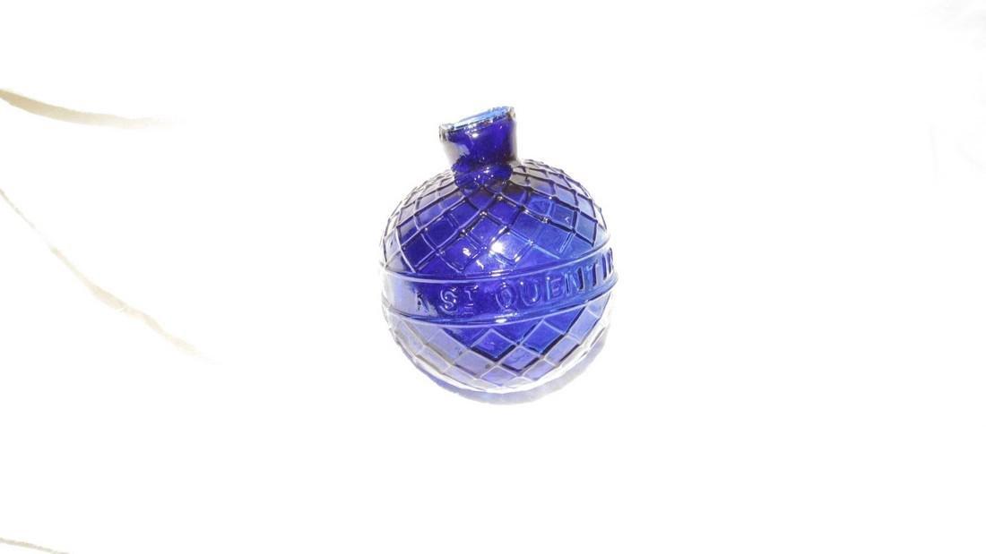Van Gutsem Cobalt Glass St Quentin Target Ball