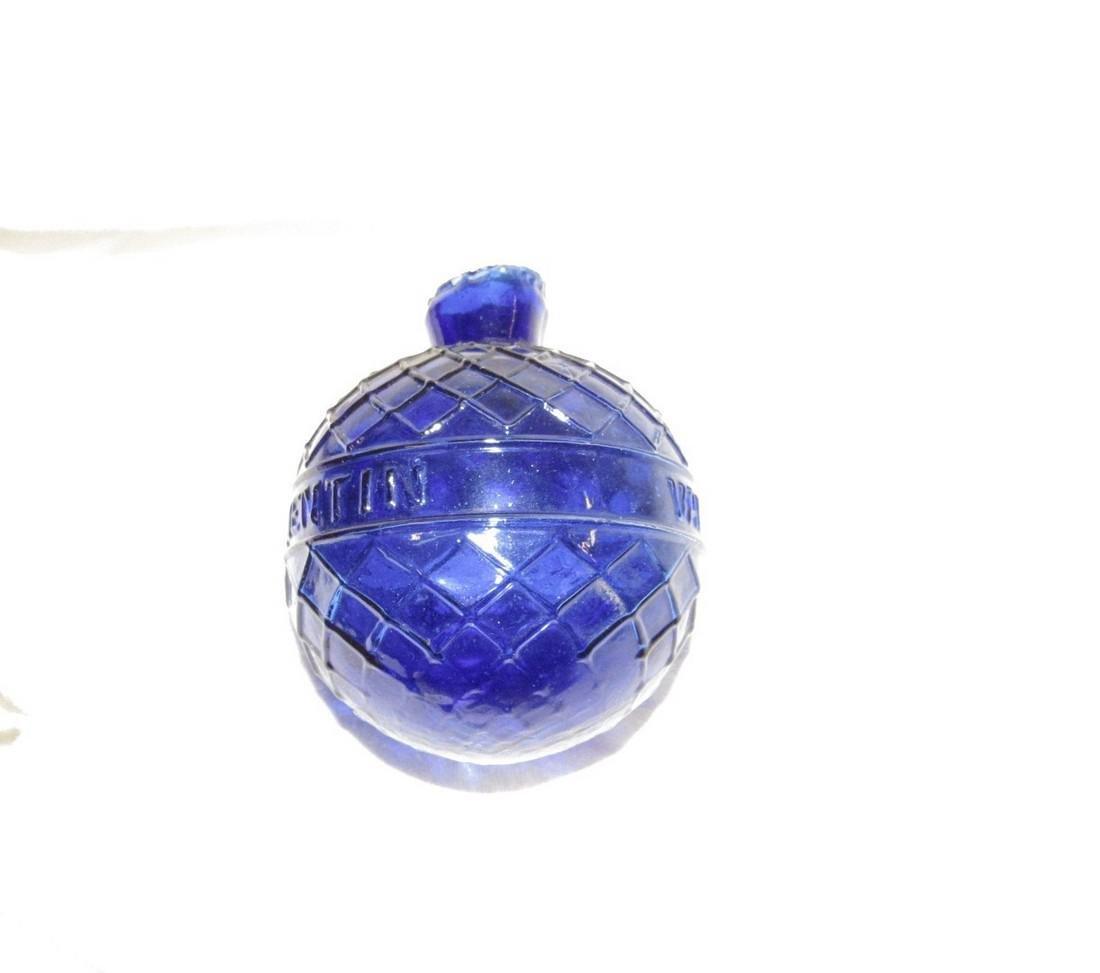 Van Gutsem Cobalt Glass St Quentin Target Ball - 2