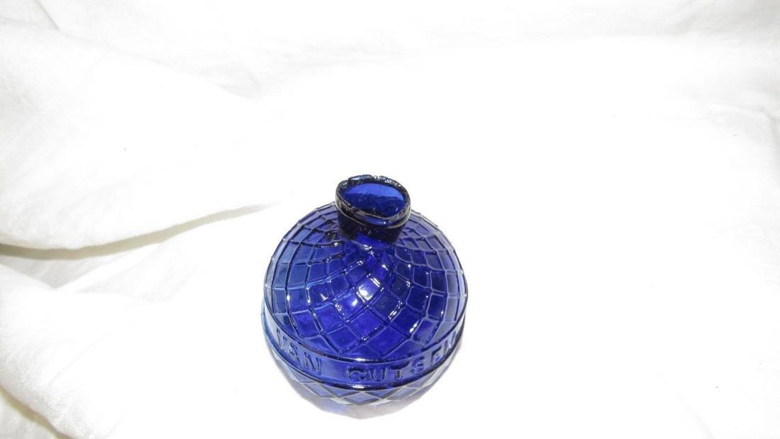Van Gutsem Cobalt Glass St Quentin Target Ball - 3