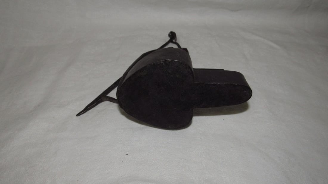 Antique Betty Lamp - 4