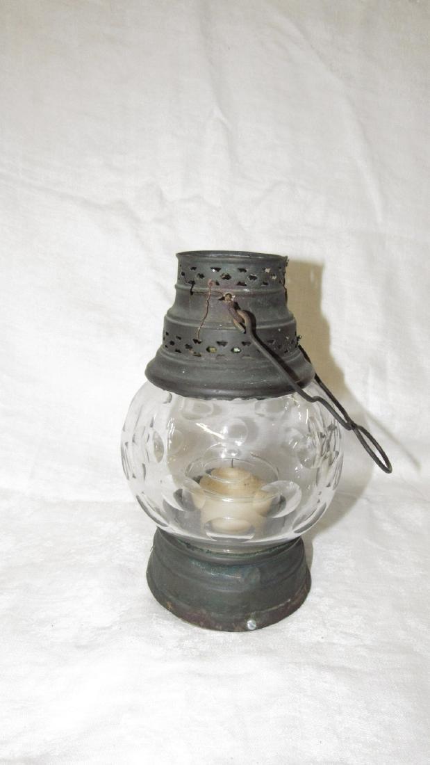 Candle Lamp w/ Great Globe - 2
