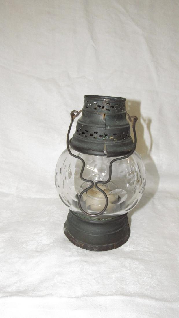 Candle Lamp w/ Great Globe - 3