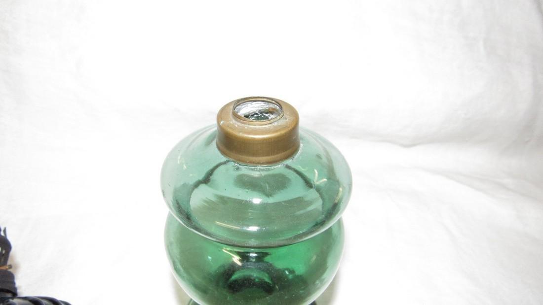 2 Antique Oil Lamps - 3