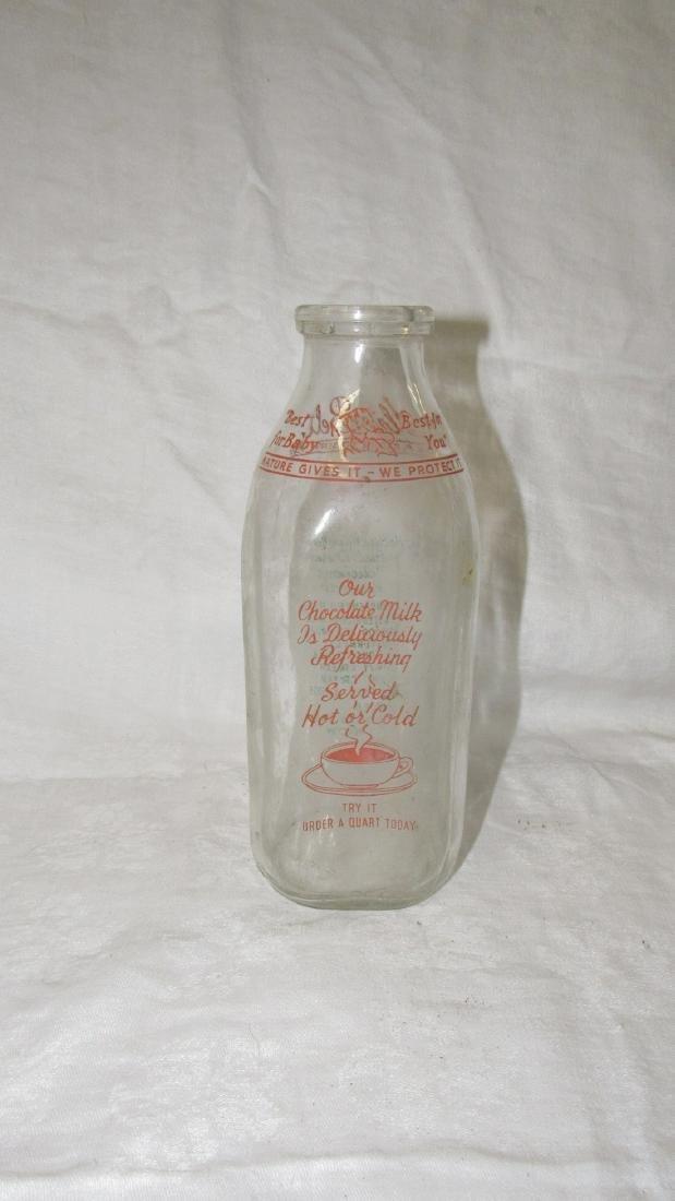 Slate Belt Dairy Quart Milk Bottle