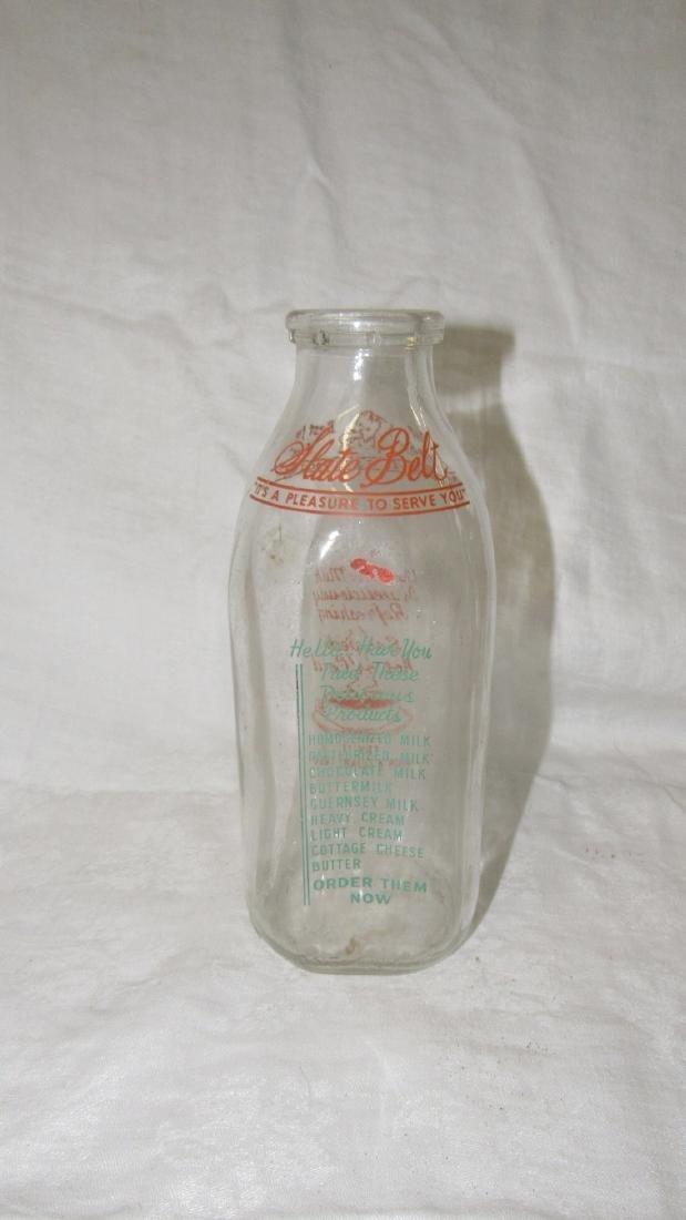 Slate Belt Dairy Quart Milk Bottle - 2