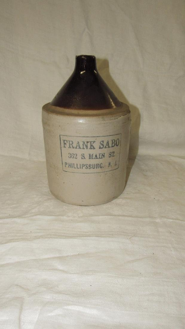 Frank Sabo Phillipsburg NJ Stoneware Jug