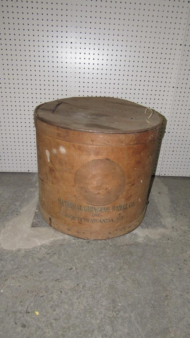 National Grinding Wheel Co. Wooden Tub
