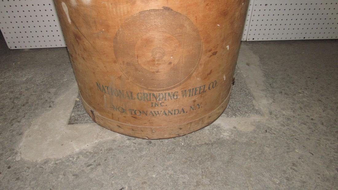 National Grinding Wheel Co. Wooden Tub - 2