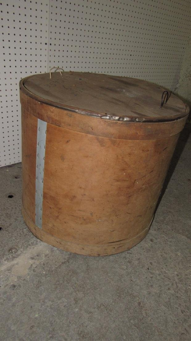 National Grinding Wheel Co. Wooden Tub - 4