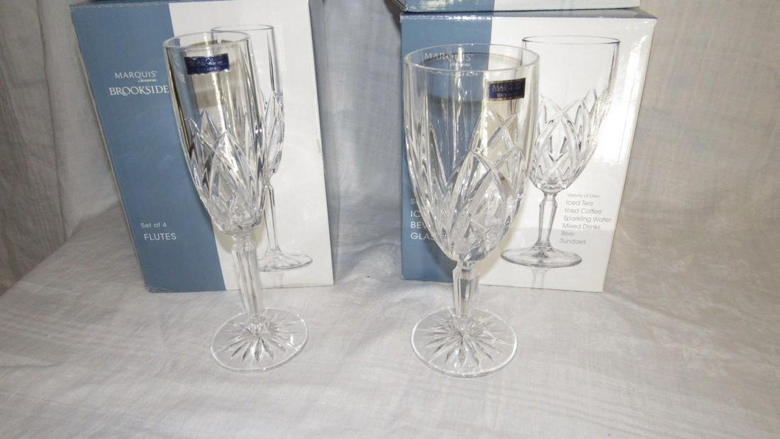 8 Waterford Marquis Beverage Glasses & Flutes - 2