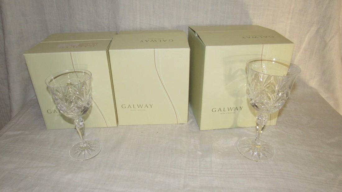 Galway Crystal Kylemore Wine Glasses