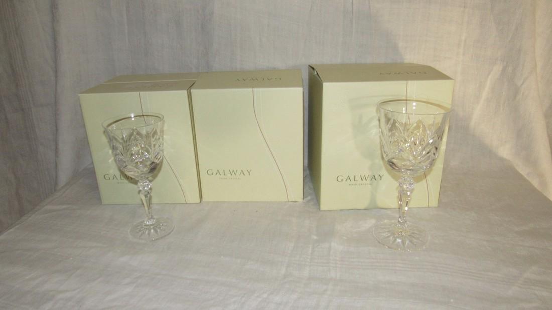 Galway Crystal Kylemore Wine Glasses - 2